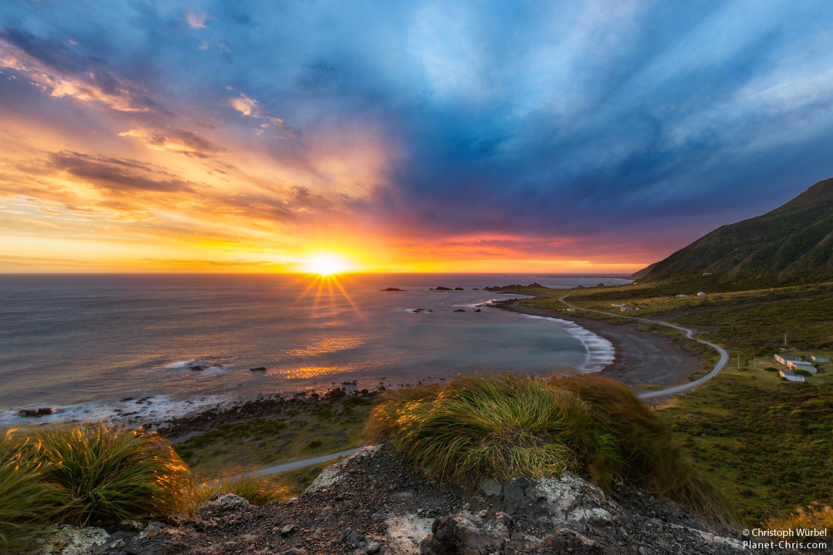 Cape Palliser Sunset