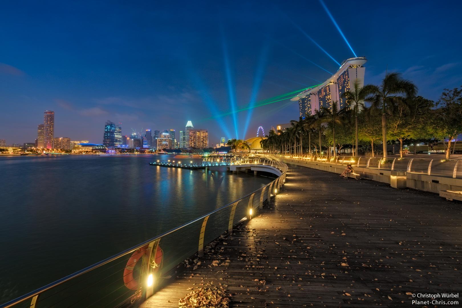 Marina Bay Sands Lasers, Singapore