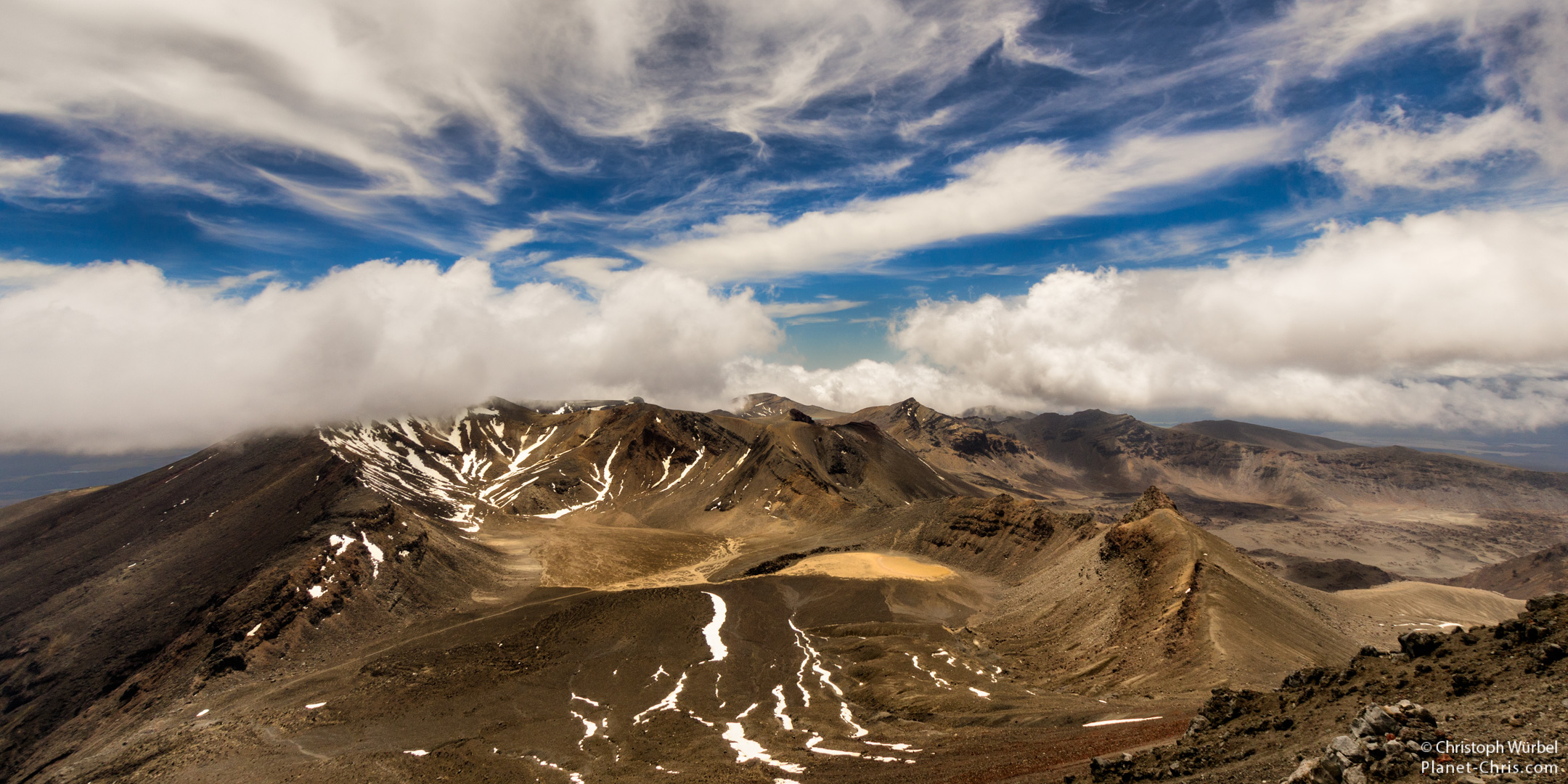 Volcanoes of Tongariro National Park